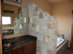 Custom Rock Wall