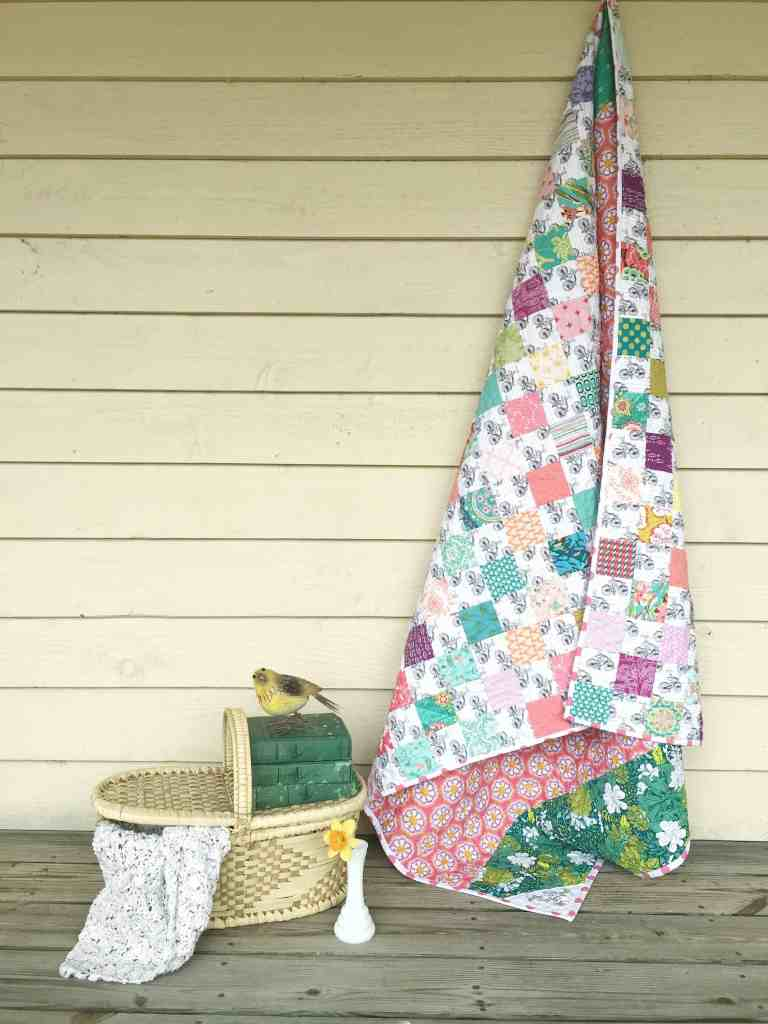Quilt Reveal – Tiny patch quilt