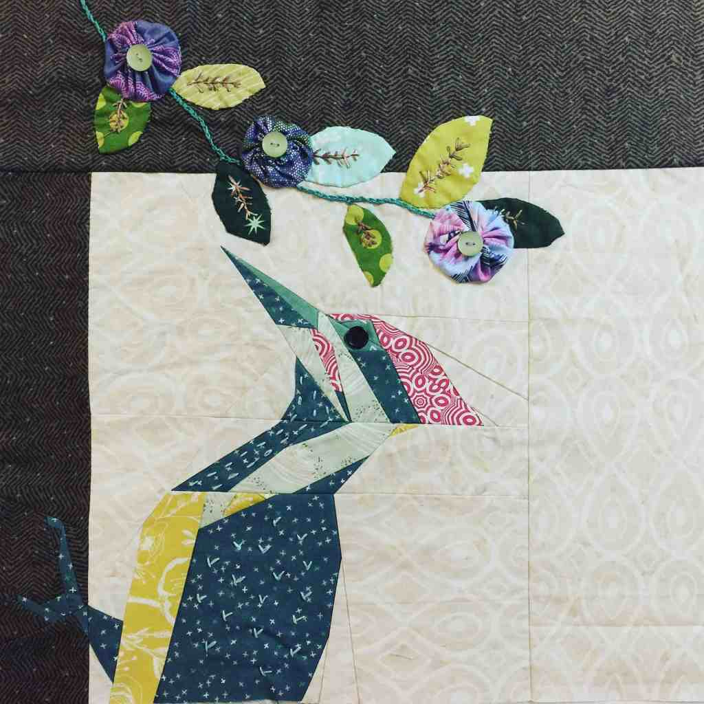 Wandering Quilt – tree of life, Susan's