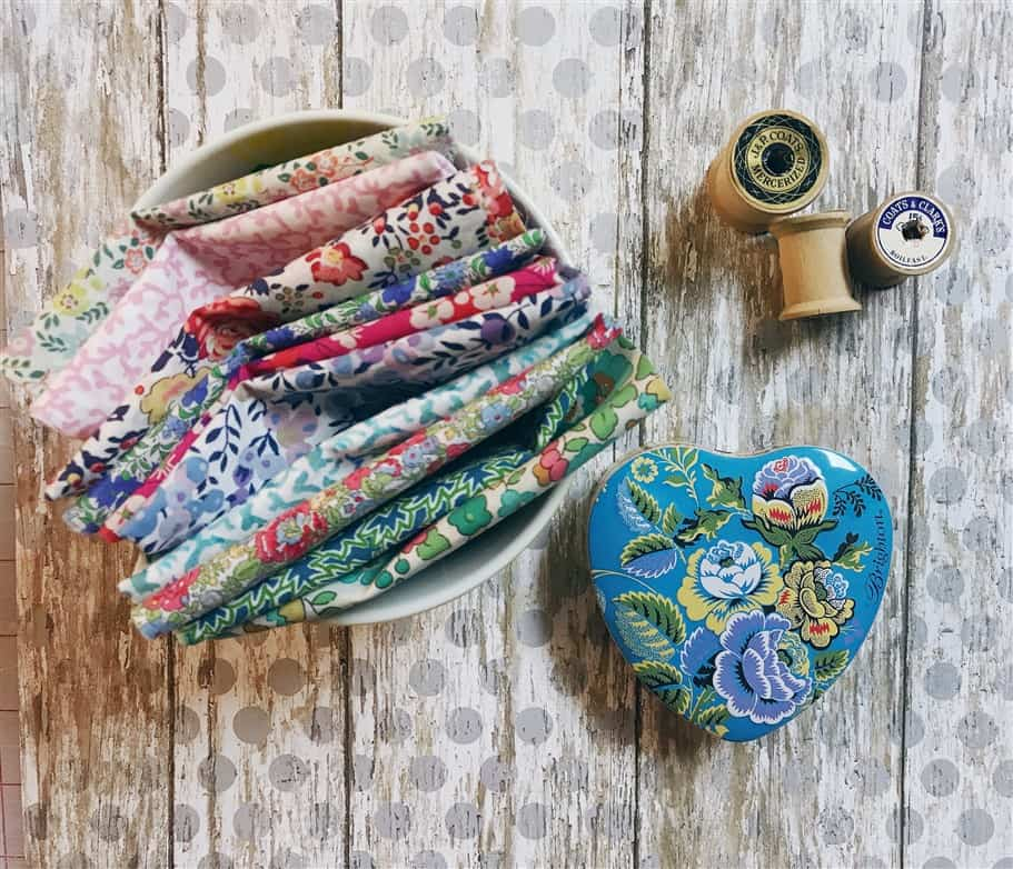 Monday is all about fabric – #14 – Liberty Society May