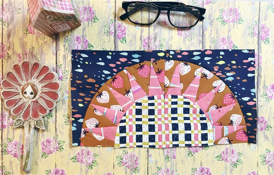 Wandering Quilt – Kathy's Kitschy quilt
