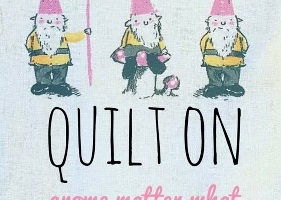 Three different kinds of quilts