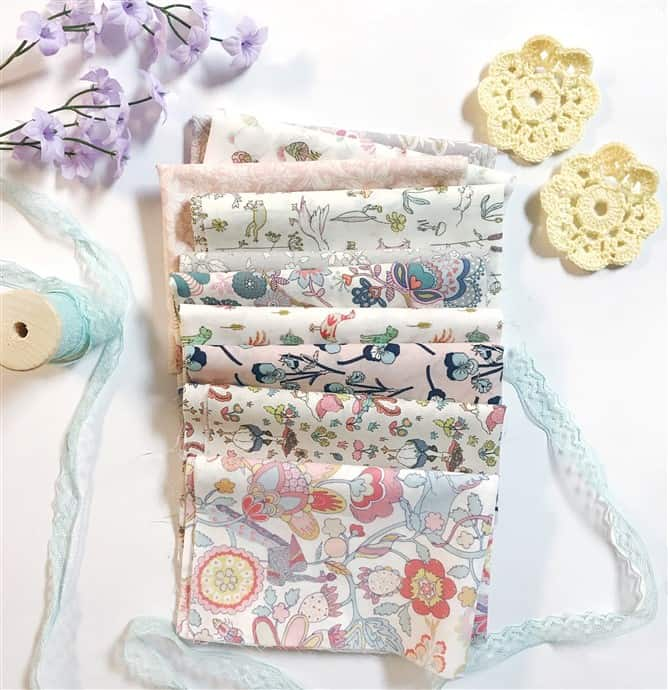 Monday is all about fabric – #23 – July's Liberty Society
