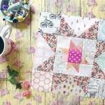 Little Miss Sawtooth Stars – Block 2 – Josephine