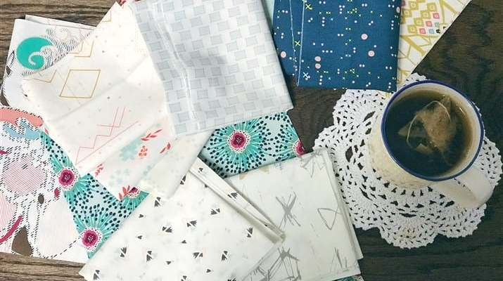 Monday is all about Fabric – #45 – The AGF fabrics I'm using for The Morning Sun QA + A Giveaway
