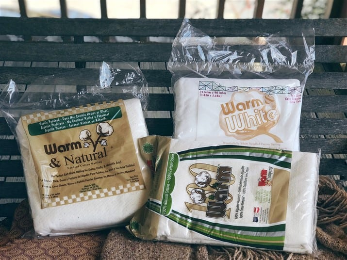 The Quilt Maker's Toolkit – my favorite batting – The Warm Company