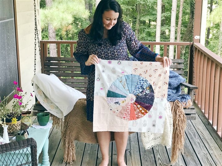 I am Enough Quilt Along – Pattern 1 YOUR Color Wheel