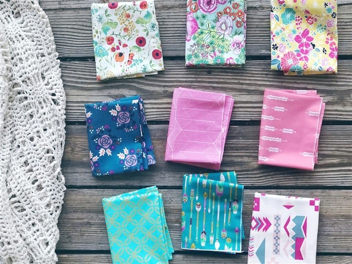 Monday is all about Fabric – #83 – Bohemian Yummies