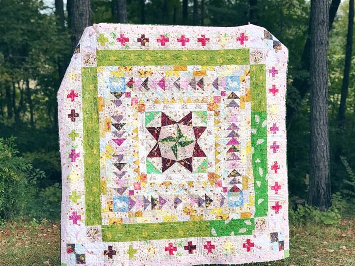 Loving + Hating a Quilt – Marcelle Medallion – Quilt Reveal
