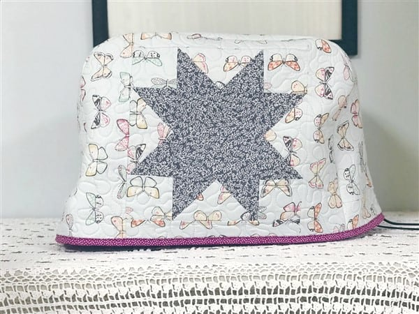 Easy Sewing Machine Cover + Free Pattern