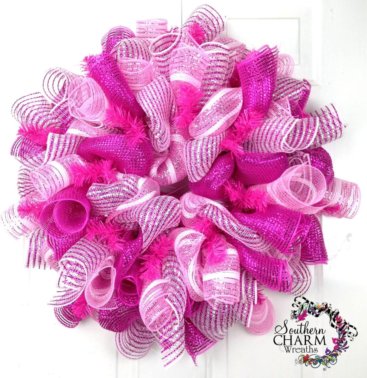 Deco Mesh Curly Loops 1 Southern Charm Wreaths