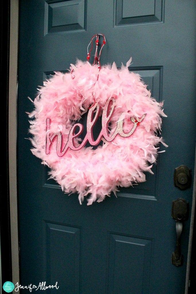 14 Valentines Day DIY Wreath Ideas Southern Charm Wreaths