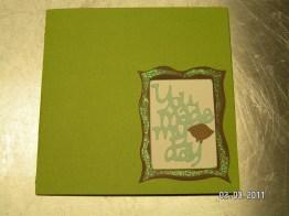 Tweety Bird Card - Cricut Wild Card