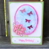Paint Chip Butterflies