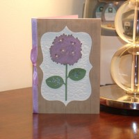 Hydrangea Birthday Card