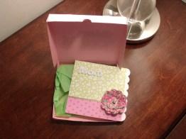 Mini Pizza Box with Card - TBBM2