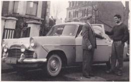 MrB car b+w