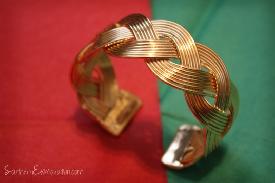 """Three Cords"" bracelet from Loft 218 Worldwide"