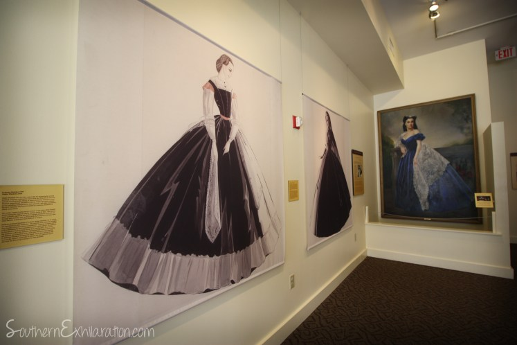 Southern Exhilaration: Margaret Mitchell House   Gone With The Wind Trail   Drawing of GWTW Costumes