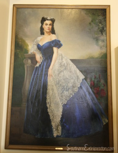Scarlett's Southern Exhilaration: Margaret Mitchell House   Gone With The Wind Trail   Painting from Rhett's Bedroom