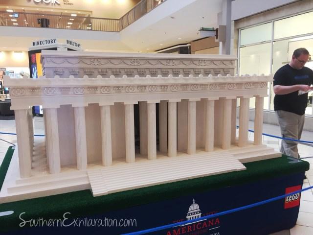 LEGO Lincoln Memorial