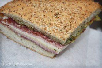 Muffaletta from Central Grocery Co.   New Orleans, LA
