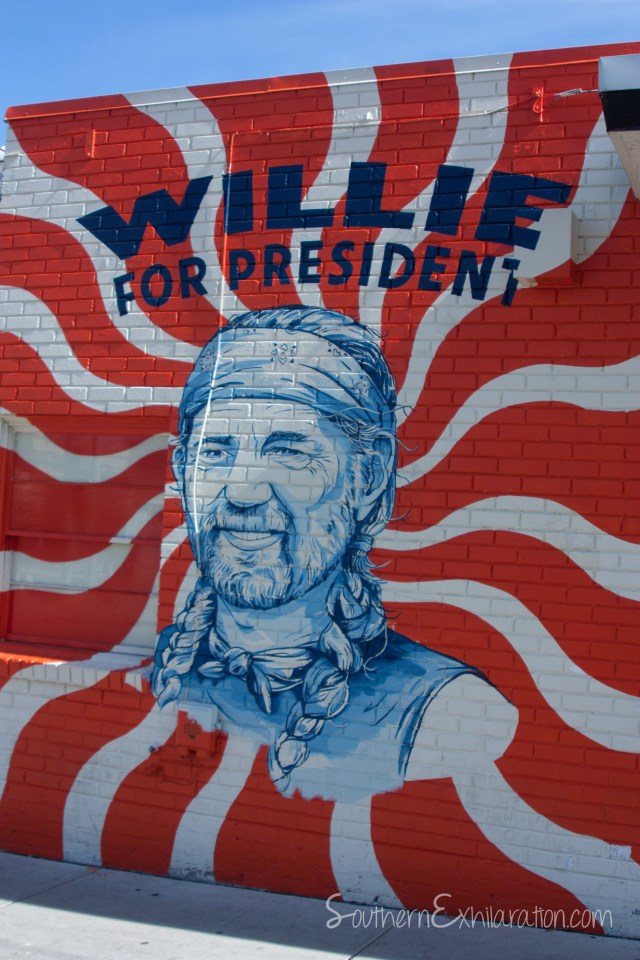 Willie for President | South Congress + Elizabeth