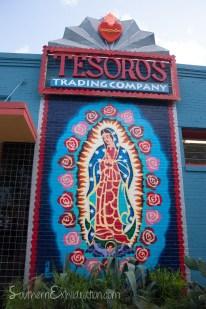 Tesoro Wall Mural | South Congress + Elizabeth