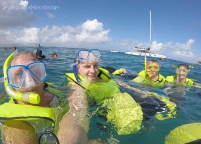 Snorkling in Sosúa, Dominican Republic