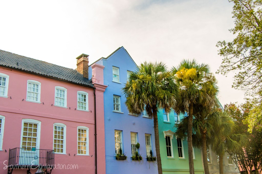 Rainbow Row | Charleston, SC