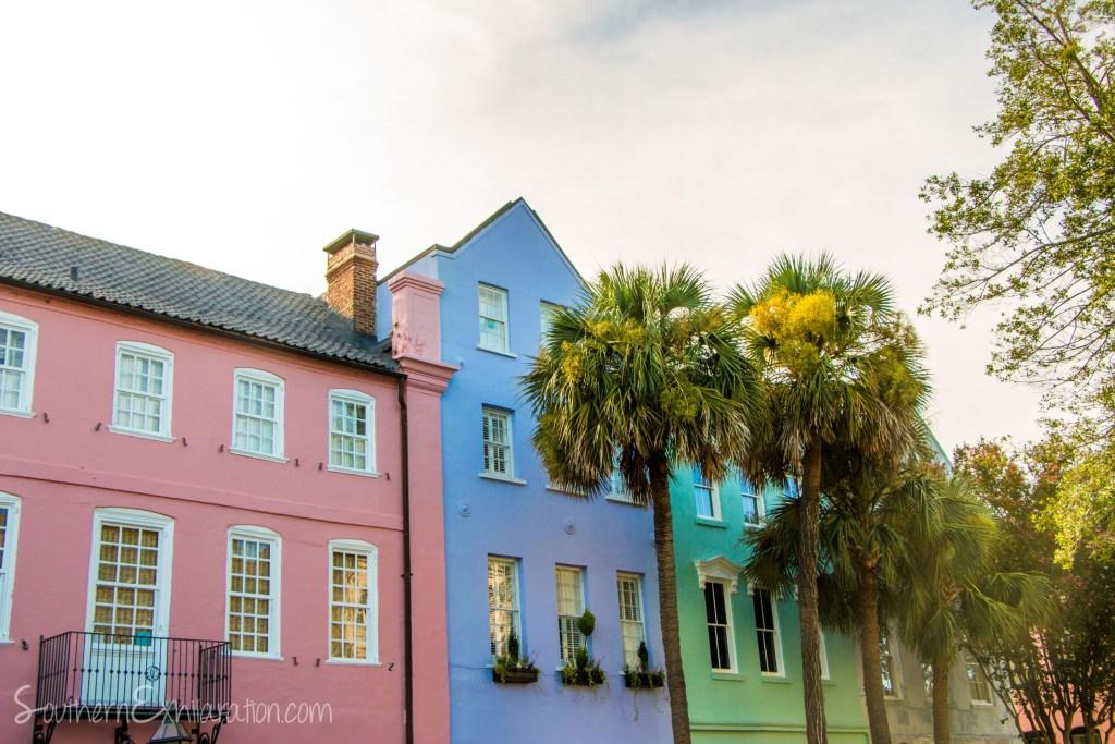 Rainbow Row | Charleston, SC