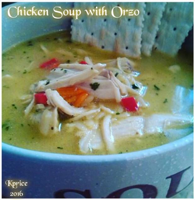 Chicken Soup ORZO