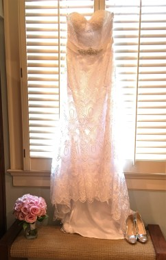 Perry - Wedding Dress and Bouquet