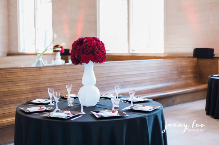 Towanda wedding centerpieces
