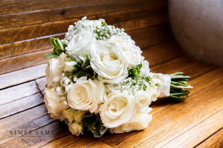 White Bouquet Roses