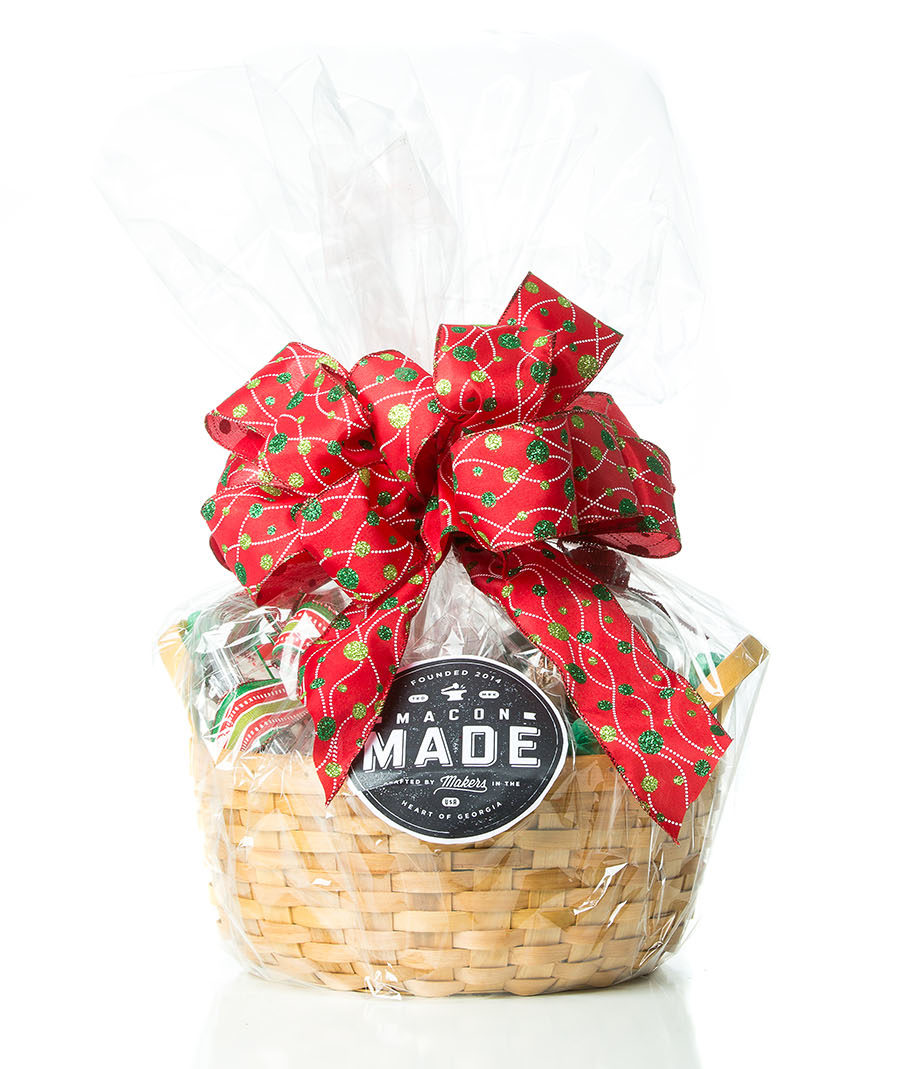 Macon Christmas Gift Basket - Southern Florals and Drapes