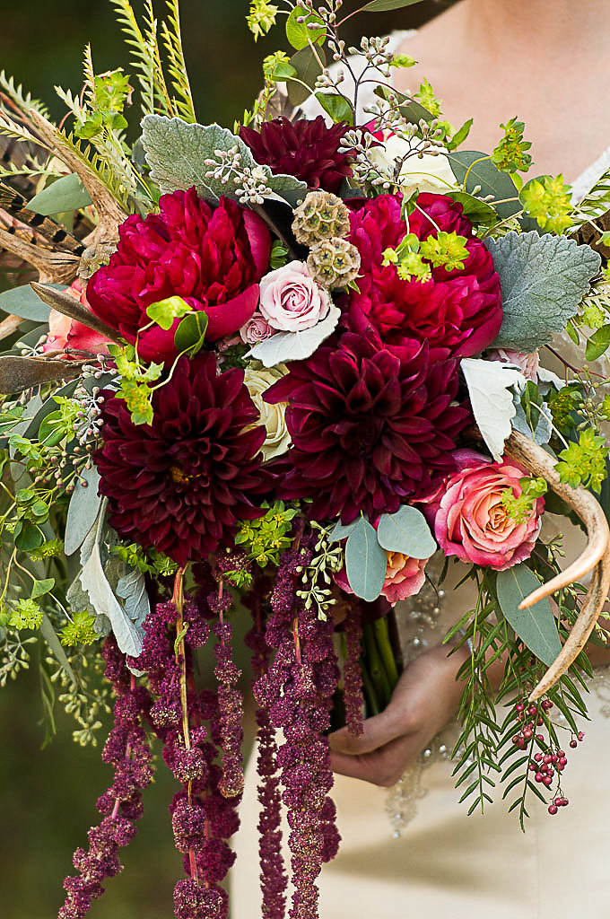 Macon Florist - BoHo Bridal Bouquet