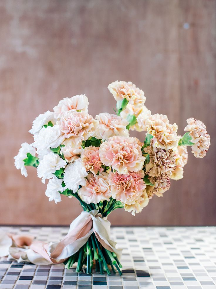 Carnation Simple Bridal bouquet