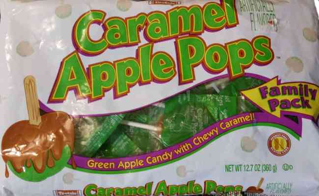 Tootsie Caramel Apple Pops