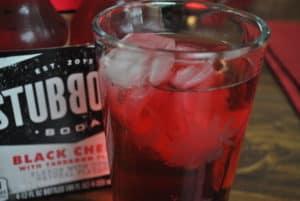 Stubborn Soda Black Cherry Flavor
