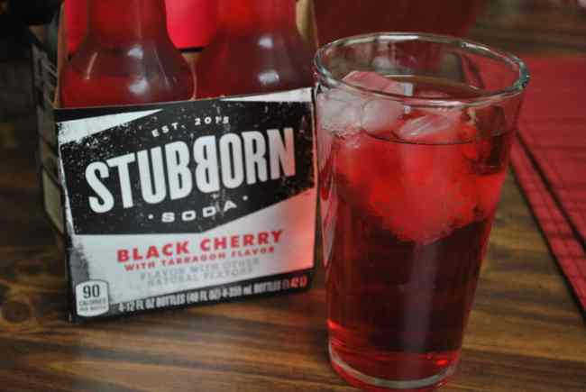 Stubborn Soda Black Cherry with Tarragon