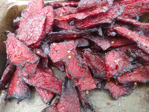 Smoked Beef Jerky from Southern Food Junkie