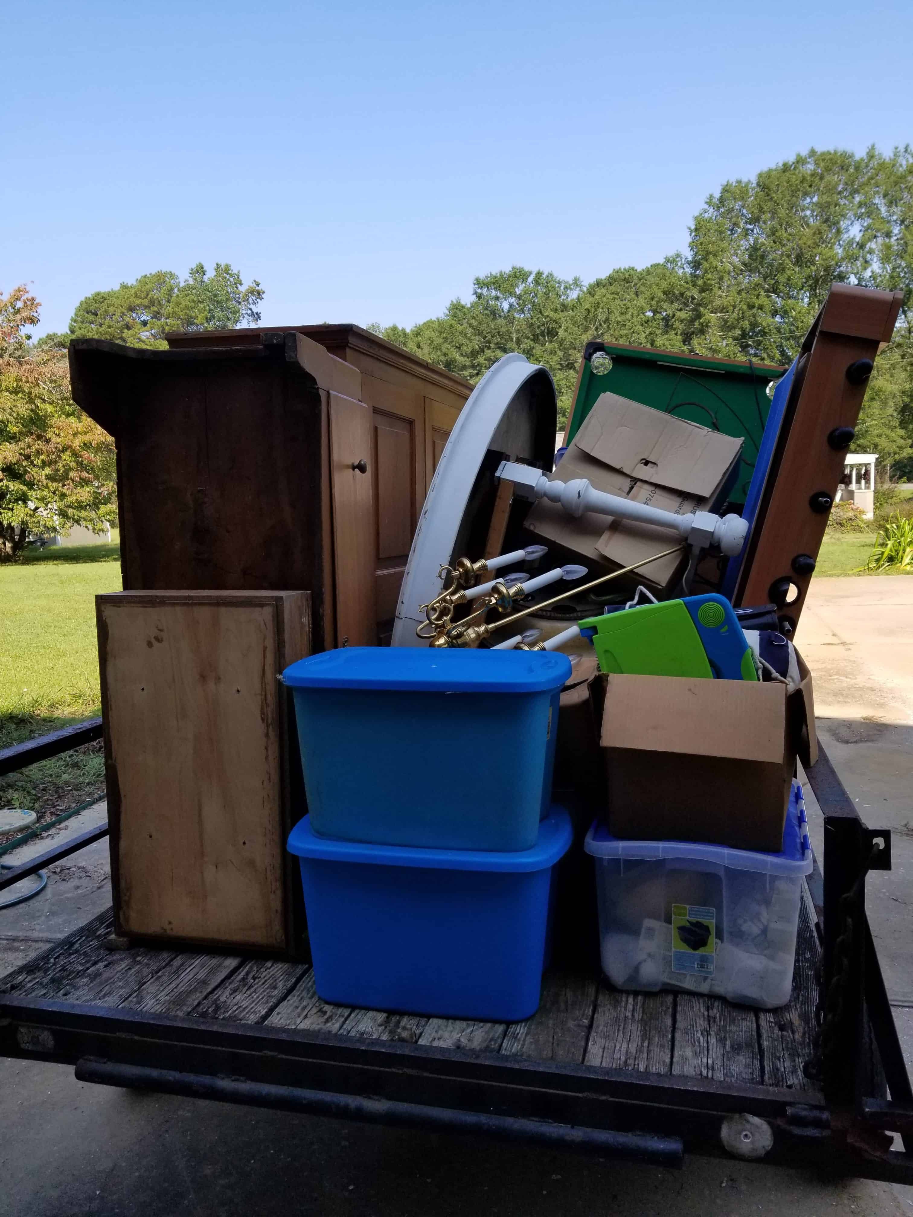 Yard Sales, Making cash for travel, clearing out stuff
