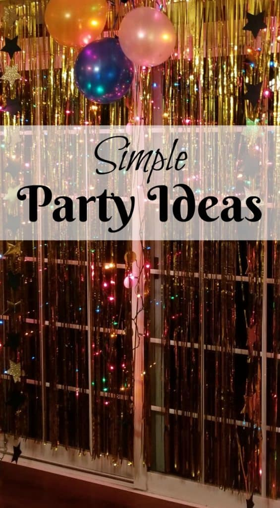 Simple Party Ideas,