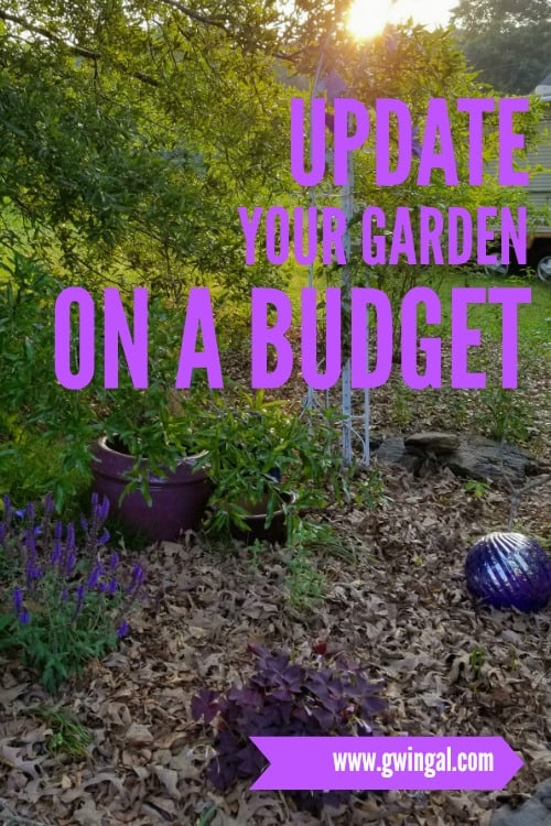 How to update your garden on a budget