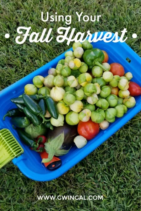 Preserving Your Fall Harvest