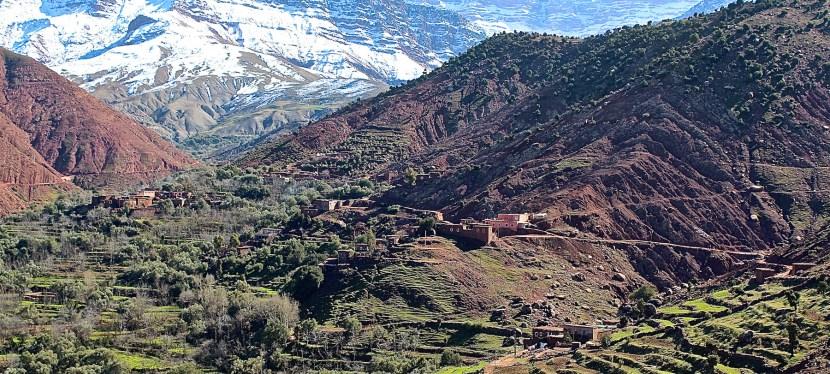 Sunny Sunday with Marrakech Trekkers