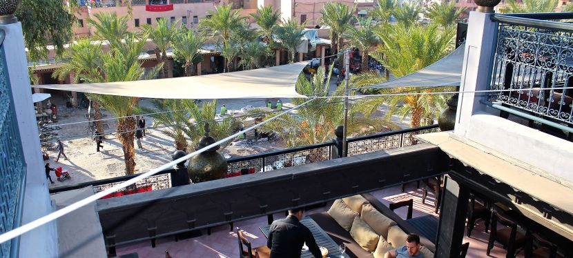 In Marrakech Locals and Expats Gather at Kosybar