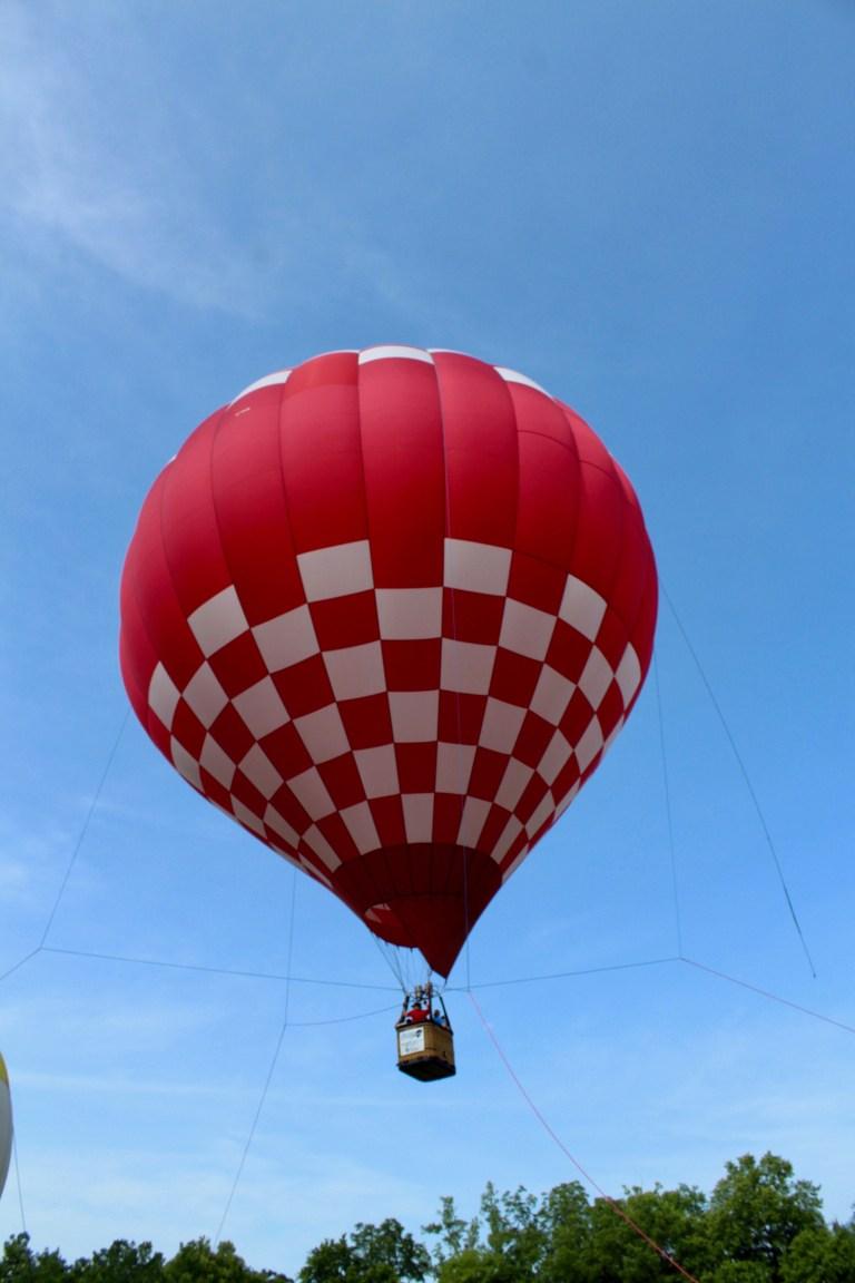 Hot Air Balloon at Victory Cup Nashville