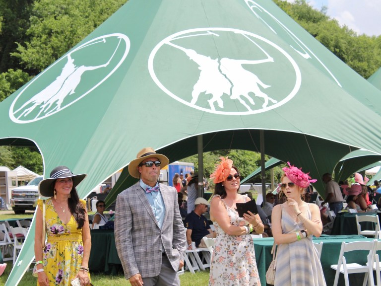 Best Dressed people at Victory Cup polo match